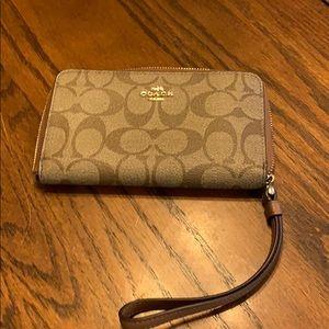 Coach wristlet/wallet.